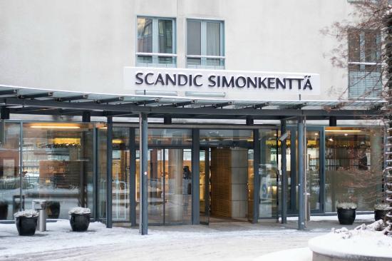 The Front Of The Hotel Kuva Scandic Simonkentta