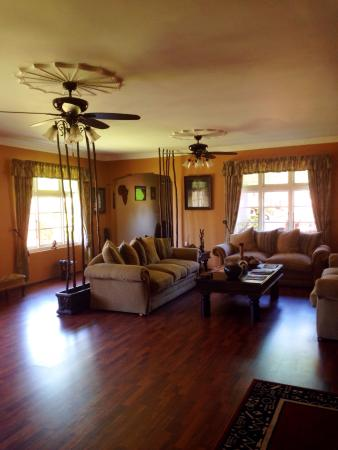 Africa Regent Guest House: Living area / saloon