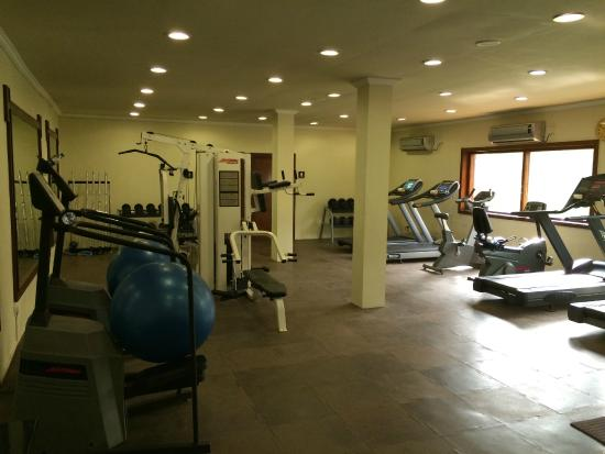 Sinquerim, India: Fitness Gym - superb and free of charge