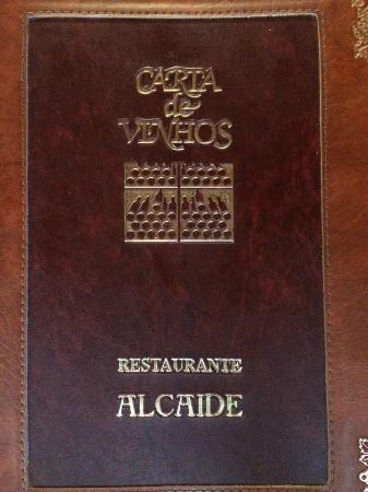 O Alcaide: Cardápio