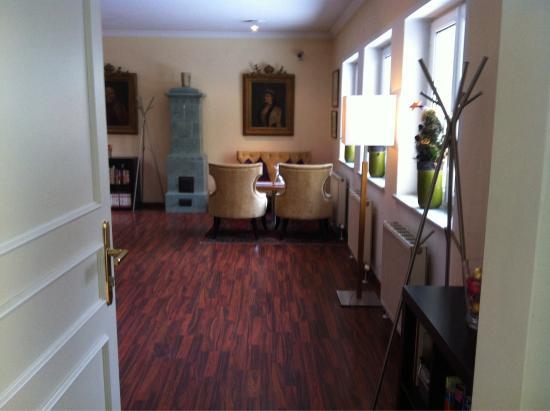 Hotel Jedermann: Sala colazione