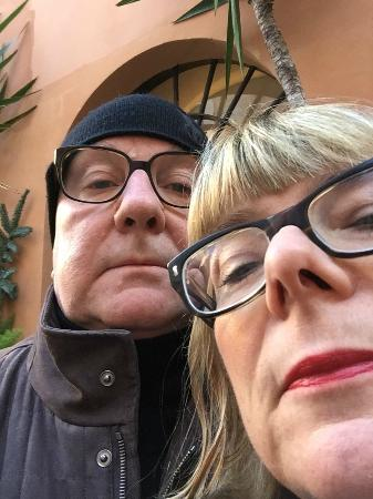 Villa della Fonte Guest House: A selfie in front of the Hotel