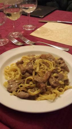 L'Antico Borgo: Fettuccine funghi porcini