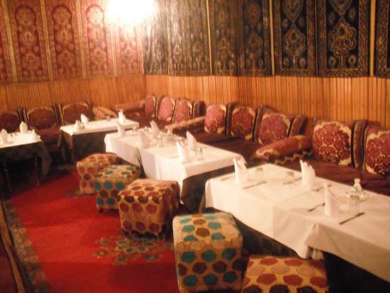 Hotel Foucauld: Lounge area.