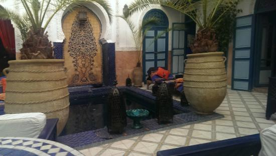 Dar Meryem : bassin maure