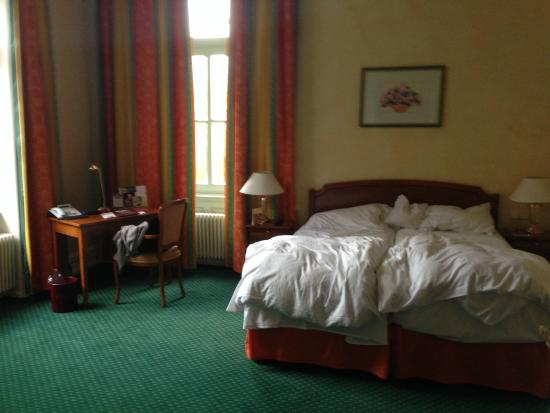 Romantik Hotel Schloss Rheinfels: The room