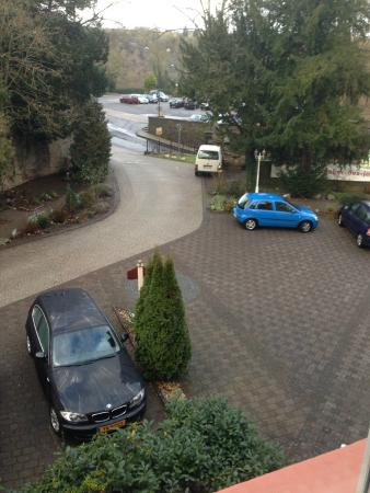 Romantik Hotel Schloss Rheinfels: What you see from the room