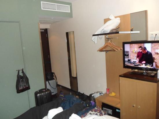 Source Hotel: Bedroom - Whilst Packing to Leave