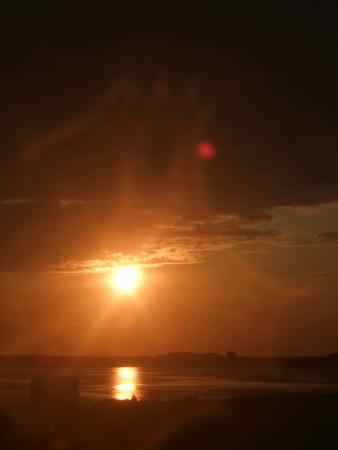 Peatfire Tales: Summer Sunset at Via Orkney