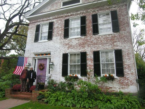 Chester Bulkley House Bed and Breakfast: Friends at the Chester Buckley for daughter's wedding