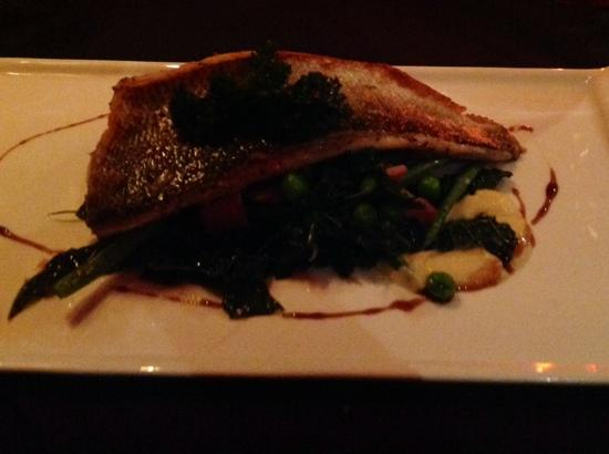 Carriages: sea bass