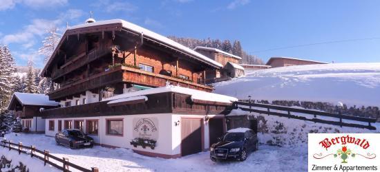 B&B Bergwald in Alpbach in winter