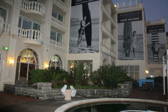 Swiss Grand Resort and Spa: веранда второго этажа