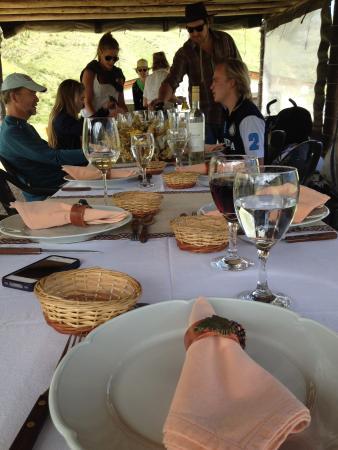 Estancia Rancho 'e Cuero: Outdoor Dining Room
