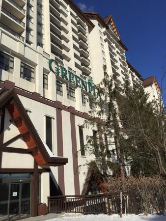 Yong Pyong Resort Greenpia Condominium : Greenpia Building