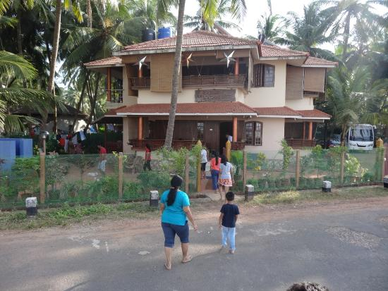 Samudra Homes: View from beach