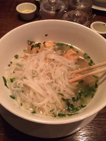 Planet Thai: Rice noodle soup with tofu