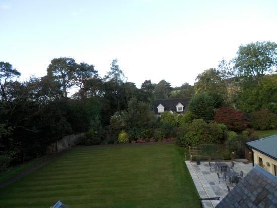 Best Western Pus Scottish Borders Selkirk Philipburn Hotel: View from bedroom