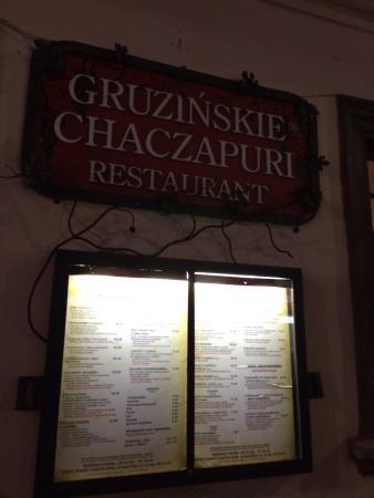 Gruzińskie Chaczapuri - Sienna