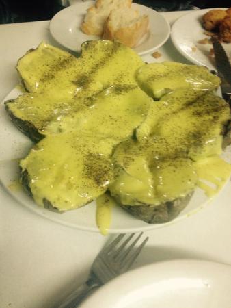 Bar La Patata : De la tierra, al plato . Lo del mero ?? ������������������������
