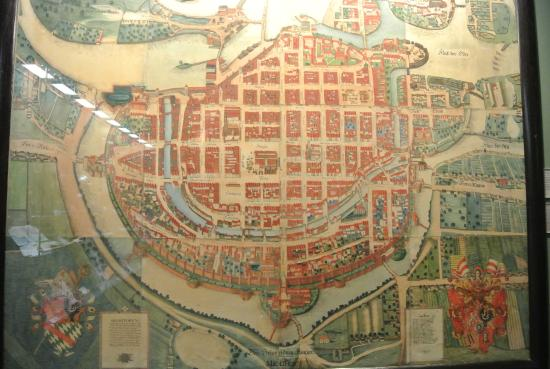 City map of medieval WroclawBreslau Picture of Wroclaw City