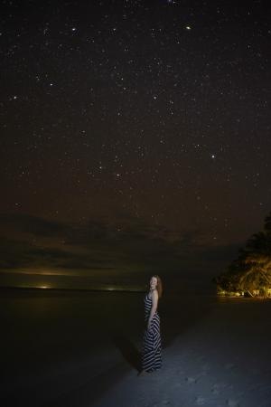 Lovely stars at Vilamendhoo