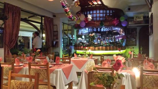 Hotel Kamal: Scampis restaurant