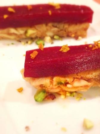 Al baccanale: Torrone di foie gras