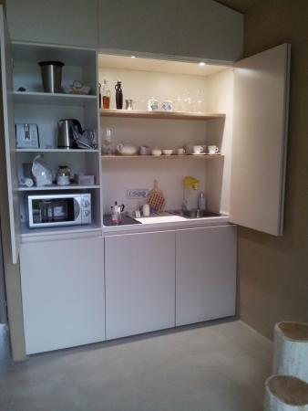 cucina a scomparsa - Picture of Ortenia - Apartments In Nature ...