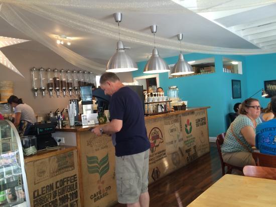Cafe Moka: Dad ordering more...