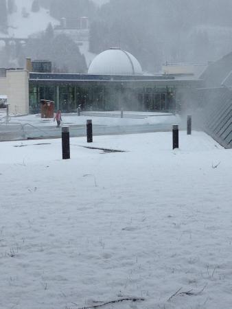 Alpentherme Gastein : Heated outside pool