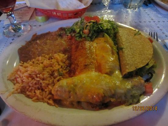 El Toro Bravo: Mexican Enchilada