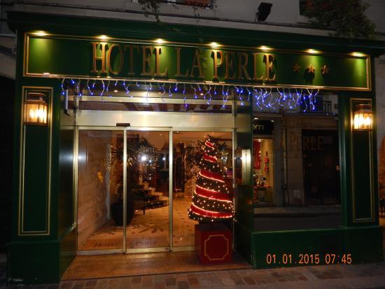 Hotel La Perle : a warm invite