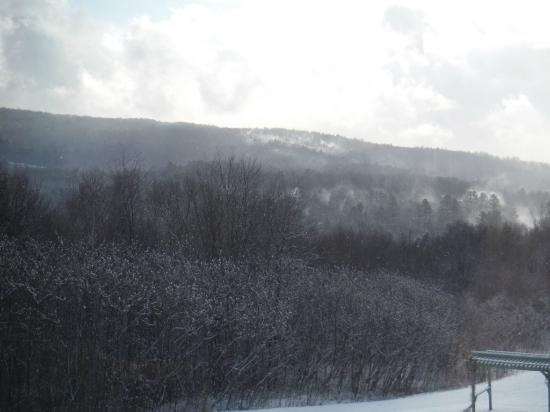 Coppertoppe Inn & Retreat Center: after the snow squall at Coppertoppe