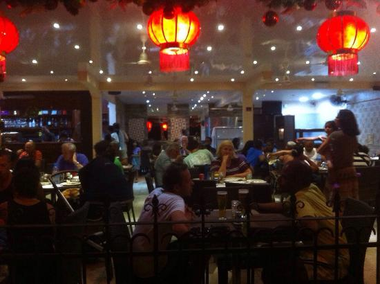 Very busy Ah Youn restaurant -good food , not so good service