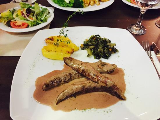 Delphi: das beste Lamm-Filet seit sehr langer Zeit!