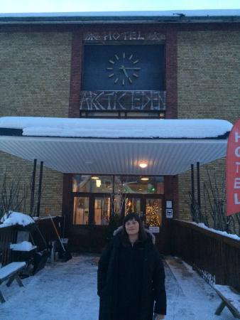 Hotel Arctic Eden : Made it!!