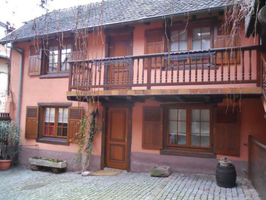 Hotel de l'Ange: Cour intérieure