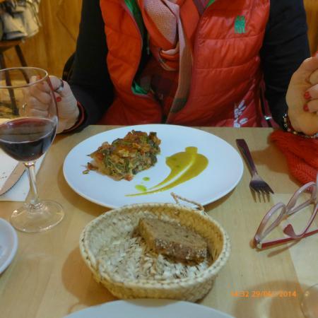 Restaurante Plaer Natural : veggie quiche