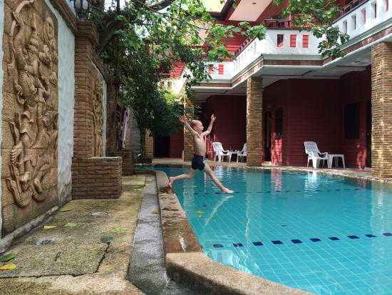 Jang Resort: Nice and clean pool!