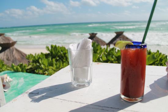 Zulum Beach Club Restaurant: view!