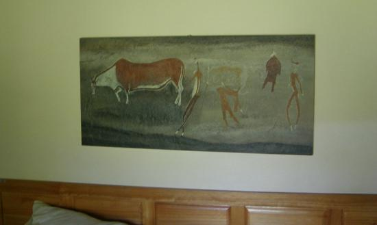 Kamberg Nature Reserve: Cottage art