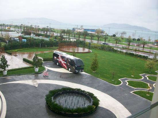Cevahir Hotel Istanbul Asia: ODA MANZARASI