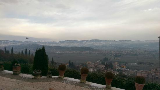 Castrum Relais di Borghetti: View from the hill