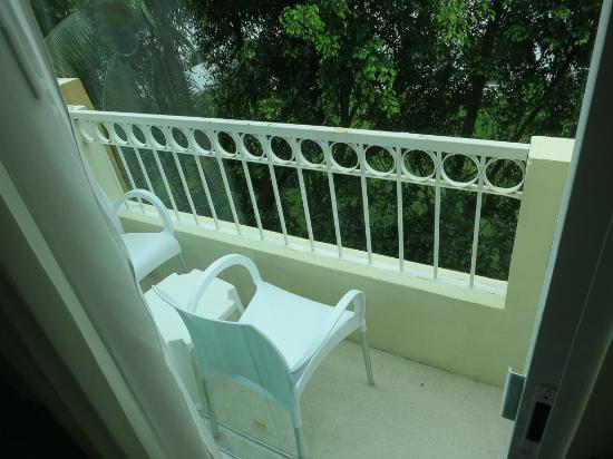 Viva Wyndham Maya : Minuscule balcon