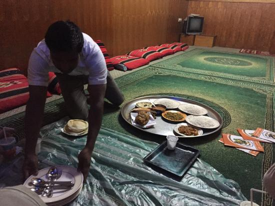 "Bin Ateeq: Preparing the ""table"""