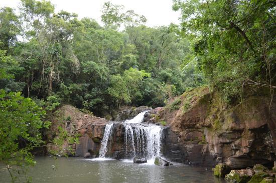 Beco Maia Lodge: Salto a 1 km de la cabaña