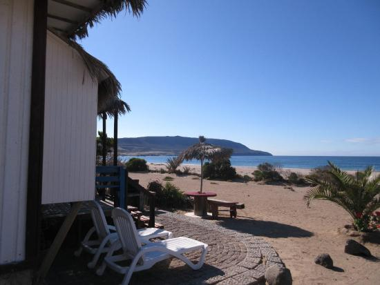 Cabanas a playa paraiso