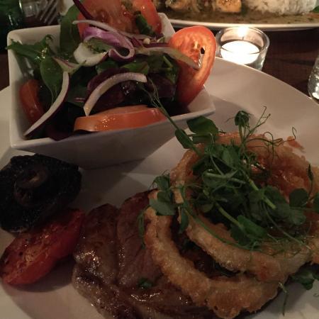 Bath Arms Hotel : Steak dinner