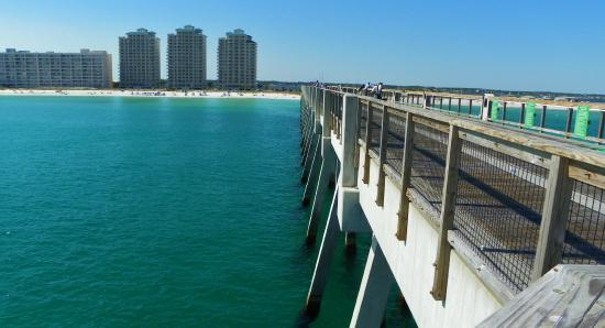 Pier picture of navarre beach fishing pier navarre for Navarre beach fishing pier